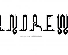 Andrew Name Tattoo DesignsAndrew Name Tattoo Designs
