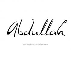 tattoo-design-name-abdullah-01