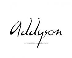 tattoo-design-name-addyson-01