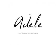 tattoo-design-name-adele-01