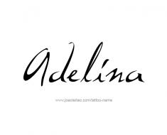 tattoo-design-name-adelina-01