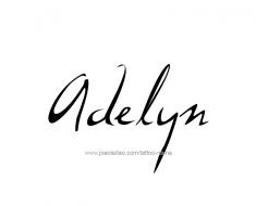 tattoo-design-name-adelyn-01