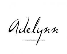 tattoo-design-name-adelynn-01
