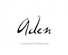 tattoo-design-name-aden-01