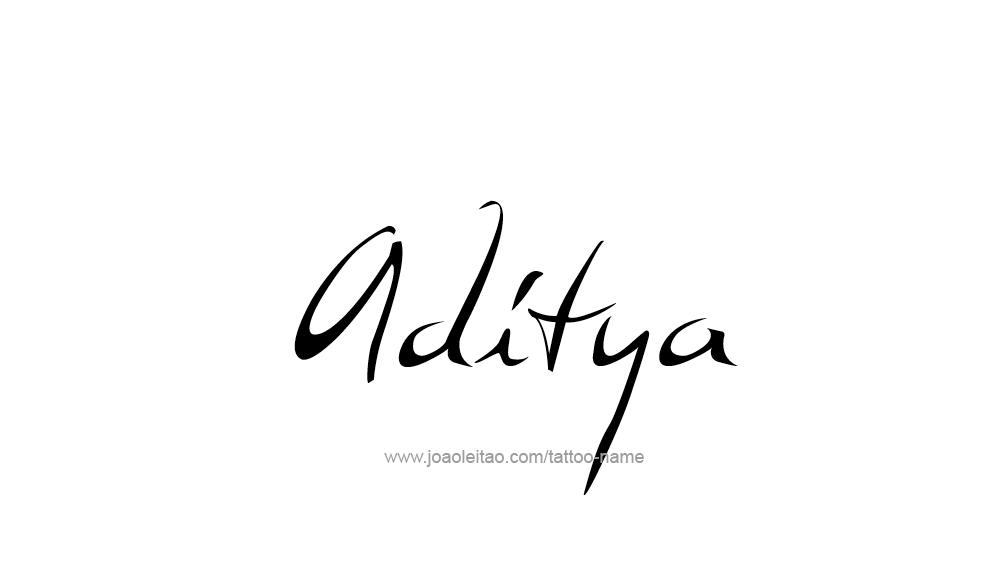 tattoo-design-name-aditya-01