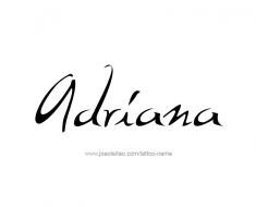 tattoo-design-name-adriana-01