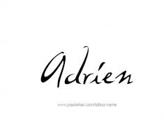 tattoo-design-name-adrien-01