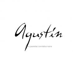tattoo-design-name-agustin-01