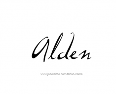 tattoo-design-name-alden-01