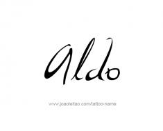 tattoo-design-name-aldo-01