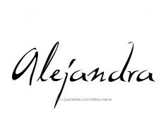 tattoo-design-name-alejandra-01