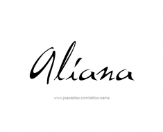 tattoo-design-name-aliana-01