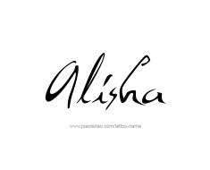 tattoo-design-name-alisha-01