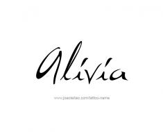 tattoo-design-name-alivia-01