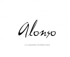 tattoo-design-name-alonso-01