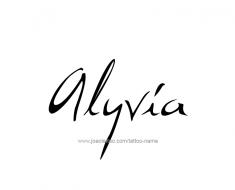 tattoo-design-name-alyvia-01