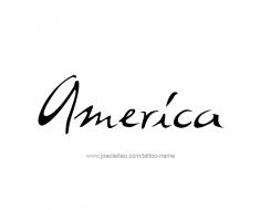 tattoo-design-name-america-01