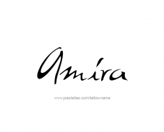 tattoo-design-name-amira-01