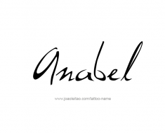 tattoo-design-name-anabel-01