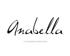 tattoo-design-name-anabella-01
