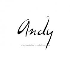 tattoo-design-name-andy-01