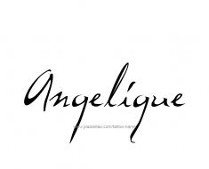 tattoo-design-name-angelique-01