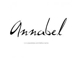 tattoo-design-name-annabel-01