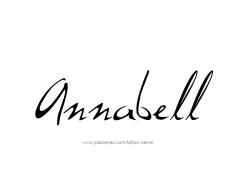 tattoo-design-name-annabell-01