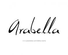 tattoo-design-name-arabella-01