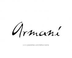 tattoo-design-name-armani-01