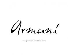tattoo-design-name-armani-011