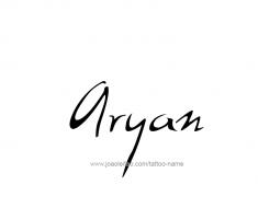 tattoo-design-name-aryan-01