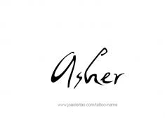 tattoo-design-name-asher-01