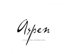 tattoo-design-name-aspen-01