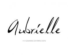 tattoo-design-name-aubrielle-01