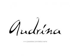 tattoo-design-name-audrina-01