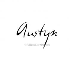 tattoo-design-name-austyn-01