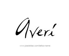 tattoo-design-name-averi-01