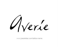 tattoo-design-name-averie-01