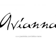 tattoo-design-name-avianna-01