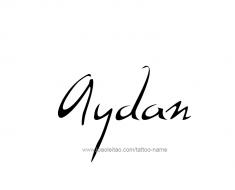 tattoo-design-name-aydan-01