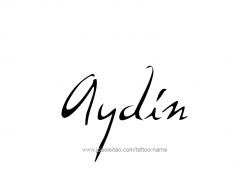 tattoo-design-name-aydin-01