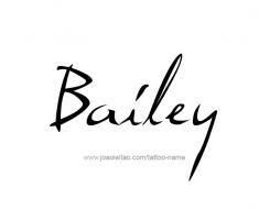 tattoo-design-name-bailey-01