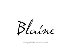 tattoo-design-name-blaine-01