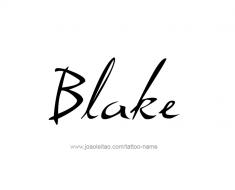 tattoo-design-name-blake-01