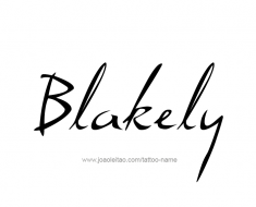 tattoo-design-name-blakely-01