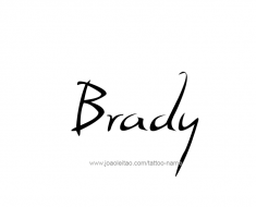tattoo-design-name-brady-01
