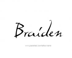tattoo-design-name-braiden-01