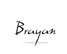 tattoo-design-name-brayan-01