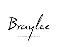 tattoo-design-name-braylee-01
